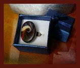 Priska - bague ovale polymère