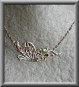 Espérance (papillon)  collier carton