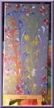 Bouquet multicolor - peinture abstraite