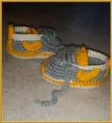 Akiles - chaussons bébé