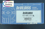 Devilbiss doucheset / nozzle set 1,2 mm