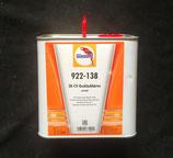 922-138 Verharder (normaal) - 5 liter