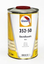 Glasurit 352-50 verdunning snel