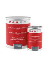 Carfit HS Filler + verharder - Zwart