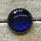 """Ring """"blau"""" antik, 25mm"""