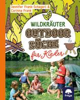 Wildkräuter Outdoorküche für Kinder