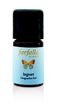 Ingwer bio Grand Cru 5ml (Farfalla)