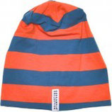 STRIPED CAP - ORANGE/BLUE