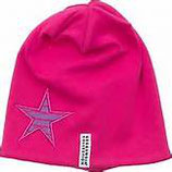 FLEECE CAP - PINK STAR
