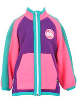 FLEECE JACKE PINK/LILA