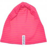 FLEECE CAP - PINK STRIPES