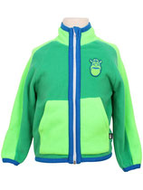 FLEECE JACKE FLUO GREEN