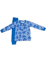 PYJAMA DOVE BLUE/ROYAL BLUE