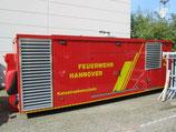 Abrollbehälter Notstrom Polyma BF Hannover