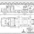Magirus Deutz 150D11 Staffel Drehleiter DL30