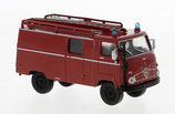 BREKINA Faun F24 LF8 rot/schwarz 1960