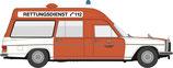 BREKINA  Mercedes Benz /8 KTW Feuerwehr Hannover H-2229