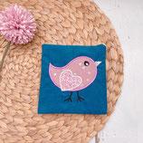 Pixi-Buchhülle Vogel rosa