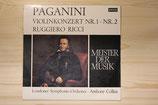 Ruggiero Ricci - Paganini: Violinkonzert Nr. 1, Nr. 2