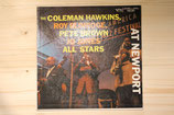 The Coleman Hawkins, Roy Eldridge, Pete Brown, Jo Jones All Stars - At Newport