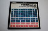Karlheinz Stockhausen - Kontakte Für Elektronische Klänge, Klavier Und Schlagzeug