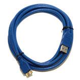 Кабель USB 3.0 А -> microB