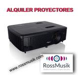 ALQUILER PROYECTOR 3200 LÚMENES
