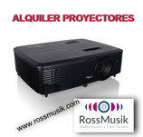 ALQUILER PROYECTOR 2600 LÚMENES