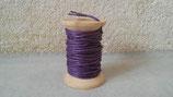 Coton ciré violet 1mmx5m
