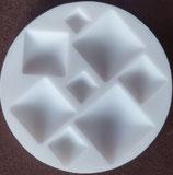 Moule silicone carrés