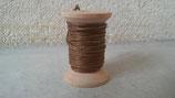 Coton ciré marron 1mmx5m