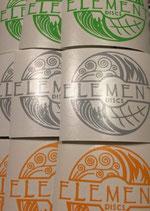 Element Discs VINYL AUFKLEBER