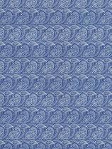 Paisley klein blau