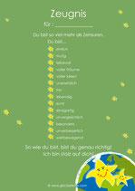 10 Zeugnisse grün