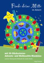 Advents- und Weihnachts-Mandalas zur Glückspunkt-Methode - PDF-Vorlage