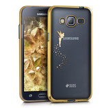 Crystal Case Samsung Galaxy J3 2016 Fee Gold