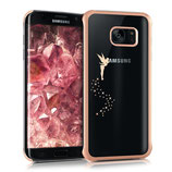 Crystal Case Samsung Galaxy S7 Edge Fee Kupfer