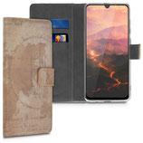 Wallet Case Samsung Galaxy A70 Weltkarte