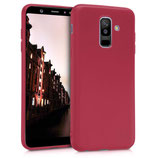 TPU Case Samsung Galaxy A6+ 2018 Rot