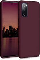 TPU Case Samsung Galaxy S20 FE Tawny Red