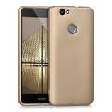 TPU Hülle Case Huawei Nova Gold Metallic