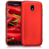 Metallic Case Samsung Galaxy J5 2017 Rot