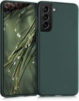 TPU Case Samsung Galaxy S21 Moosgrün