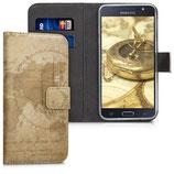 Wallet Case Samsung Galaxy J5 2016 Weltkarte