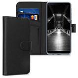 Wallet Case Samsung Galaxy A7 (2018) Schwarz