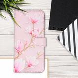 Wallet Case Samsung Galaxy A50 Magnolien Rosa
