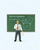 Preiser 29107 Lehrer mit Tafel H0