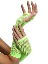 Handschuh Netzhandschuh neongrün