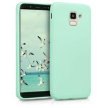 TPU Case Cover Samsung Galaxy J6 Mint