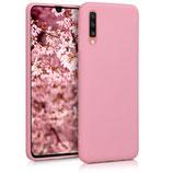 TPU Case Hülle Samsung Galaxy A70 Rosa